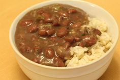 One of our go-to bean dishes is Red Beans & Rice. I posted about it a long time ago and you can find the original, slow-simmered recipe here. Well, the spring rains have stopped, the heat is on…