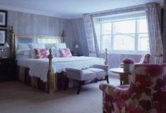 Charlotte Street Hotel, bedroom