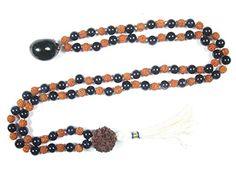 Saturn Shani Mala Beads Onyx Rudraksha Meditation Protection Energy Mala Pendant Mogul Interior http://www.amazon.com/dp/B00V04O0V0/ref=cm_sw_r_pi_dp_C7rVvb1FYY6A5