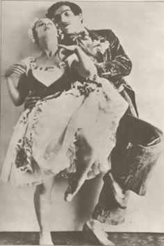 Lydia Lopokova & Léonide Massine