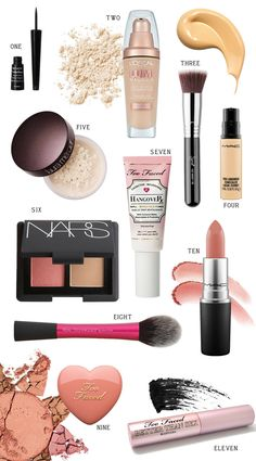 Make-up - Easy Everyday Makeup Routine, I love this all these beauty products and the best part is that I can do this routine quickly in about about 5 or so minutes Beauty Blogs, Beauty Hacks, Beauty Tips, Skin Care Routine For 20s, Everyday Makeup Routine, Beauty Routine Planner, Beauty Routines, Natural Everyday Makeup, Natural Makeup