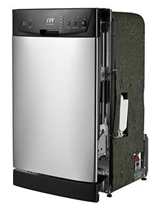 """SPT SD-9252SS Energy Star 18"""" Built-In Dishwasher, Stainless Steel, 2016 Amazon Top Rated Dishwashers  #Appliances"""