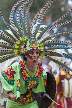 Aztec Dancer, Native American Pow Wow, Stanford University.  Photo: niftyken, via Flickr