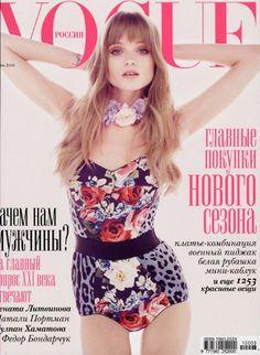 Vogue. Bold patterns.
