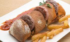 Receta de Mini hamburguesas con salsa barbacoa