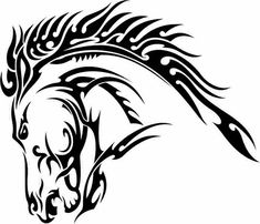 The mane should be longer but I want this on my calf <3