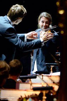 Concierto de David en su ciudad natal Aachen en el Last Night Kurpark Classix 2017!❤️ Fotos Sandra Borchers compartida por Sinfonieorchester Aachen