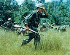 Lt. Johnny Libs, 2nd Platoon, Company C, 2nd Battalion, 16th Infantry Regiment, 1st Infantry Division, Vietnam, 1965.