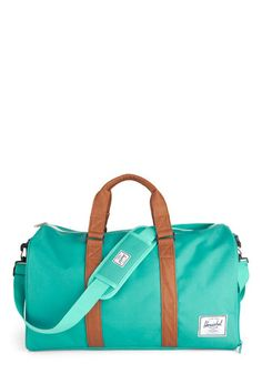 Emerald Waters Weekend Bag, #ModCloth. Want this in my life.