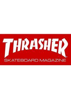 Thrasher Skate-Mag-Medium, Misc., red #Misc. #AccessoriesMale #titus #titusskateshop
