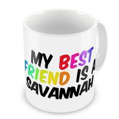 Coffee Mug My best Friend a Savannah Cat from United States - Neonblond * Wow! I love this. Check it out now! : Cat mug