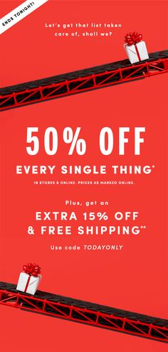 J.Crew Factory: 50% off everything & free shipping (that's how you get it…