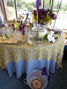 Outdoor Bridal Brunch Buffet Tablescape for Settings III | Backyard Soiree Weddings and Events