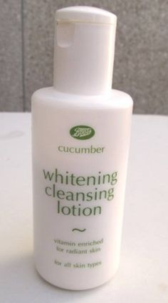 Radiant Skin, Whitening, Cucumber, Cleanse, Detox, Lotion, Vitamins, Facial, Skin Care
