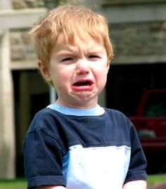 Emotion-Angry/Upset: To me this is a quintessential 'upset' image.  We don't know why, but we sure know he's upset.