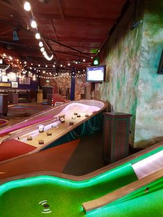 Crazy Golf, Different Games, White City, Microsoft, Basketball Court, Bar, Decorating, Mini, Sports