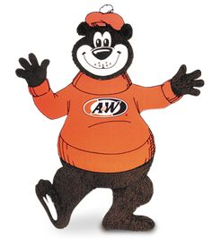 The Great Root Bear, A & W's mascot, dates back to along with sugar-free A & W. I still have mine :) School Memories, Best Memories, Childhood Memories, A&w Restaurants, A&w Root Beer, Food Drive, Vintage Restaurant, Tv Ads, Ol Days