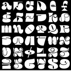 Adobe's partnership with 36 Days of Type kicked off in 2019 with a contest to design the alphabet, and out of hundreds of entries these six rose to the top. Graffiti Alphabet, Graffiti Lettering, Typography Fonts, Types Of Lettering, Lettering Design, Graphic Design Posters, Graphic Design Illustration, Typographie Inspiration, Hand Lettering Alphabet