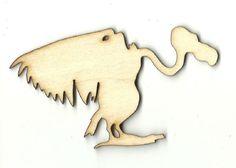 Vulture - Laser Cut Wood Shape BRD160