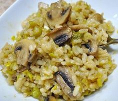 Risotto with Chives and Truffle Oil, Risotto Recipes, Truffle Oil Recipes
