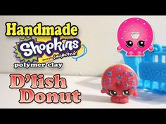 How To Make Shopkins: D'Lish Donut Polymer Clay Tutorial! - YouTube