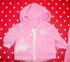 Baby Born Zapf Creation Puppenkleidung Jacke Hose Set pink rosa Hase in Spielzeug, Puppen & Zubehör, Babypuppen & Zubehör | eBay!