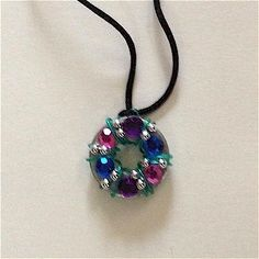 Teens especially will enjoy making the Blingy Washer Necklace for their friends and themselves. There are so many possible variations.