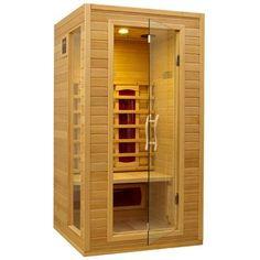 Dynamic Infrared 1-2 Person Ceramic Far Infrared Sauna