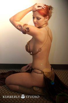 Cosplay Slave Leia
