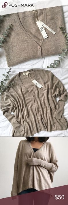 NWT Cozy Heathered Oatmeal Cardigan by LoveStitch Brand new with tags! Super cozy and soft long sleeve cardigan in oatmeal heather color. Draper fit, looks really great over jeans for a casual fall look! You will want to wear this cardigan everyday! Comes in sizes S/M and M/L. love stitch Sweaters Cardigans