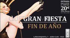 Cena de Fin de Año 2014 | Restaurante para eventos Reconquista 7 Aero Club Vigo