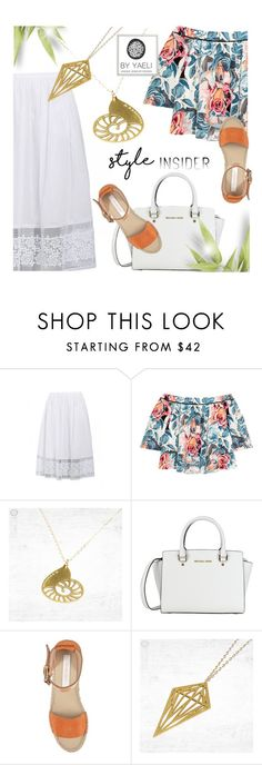 """""""YAELI JEWELRY"""" by monmondefou ❤ liked on Polyvore featuring Elizabeth and James, See by Chloé and yaeli"""