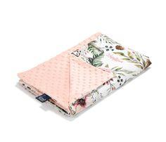 Tavaszi-nyári takaró töltet nélkül - kétoldalas pamut-minky - Wild Blossom - Bubbaland.hu Linen Bag, Powder Pink, Hand Sewing, Blanket, Baba, Happy, Bed Covers, Sewing By Hand, Ser Feliz