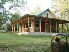 """HomeAway #431221-Hunt cabin rental - """"The Cabin."""" Be sure to drink your morning coffee on the front porch."""