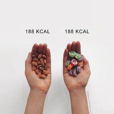 Fitness Blogger Shares Food Comparisons To Change The Way You Think About Food - Do You Agree With Her?