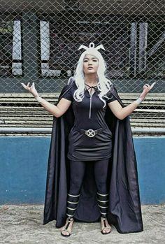 My version of X-Men Storm... #costume #diy #storm #pinay #prisma