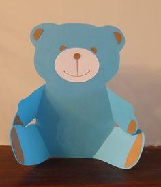 Personnalisé Teddy Bear Baptême Autocollants Newborn douche naissance étiquettes Seal