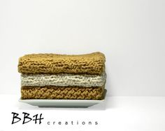 http://www.etsy.com/treasury/MTUyNTc5Mzd8MjcyNDY3MDQ2OA/w-is-for-whimisical-wonders?index=0=treasury_search_uid=  Hand Knit Dishcloths Kitchen Cotton Wash Cloth by BBHCreations, $13.50