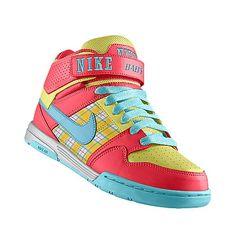 quality design b0a66 ed25b Nike Air Mogan Mid 2 (crazy color) Pumped Up Kicks, Crazy Colour,