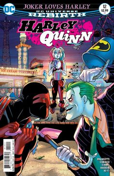 Joker might not be the knight in green and purple armor he's pretending to be in HARLEY QUINN #12! Surprise, surprise. #NewDCDay #NCBD