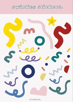Pop Stickers, Tumblr Stickers, Kawaii Stickers, Printable Stickers, Journal Stickers, Planner Stickers, Korean Stickers, Alphabet Stickers, Cute Doodles