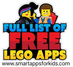 Everything is awesome! Everything is cool when you're part of the team....  27 FREE Lego apps with no in-app purchases! Get them here and don't be greedy with the freebies, share the good news with your friends!  http://www.smartappsforkids.com/2014/12/33-completely-free-no-in-apps-lego-apps.html