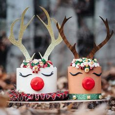 Repost from - GUYS! I'm SO excited. I just ordered my reindeer cake from 😍Want to know what's even MORE… Reindeer Cakes, Seasons, Christmas Ornaments, Guys, Holiday Decor, Instagram, Design, Seasons Of The Year, Christmas Jewelry