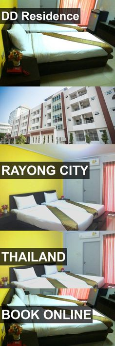 Hotel DD Residence in Rayong City, Thailand. For more information, photos, reviews and best prices please follow the link. #Thailand #RayongCity #travel #vacation #hotel
