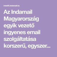 Az Indamail Magyarország egyik vezető ingyenes email szolgáltatása korszerű, egyszerűen használható felülettel, 2GB tárhellyel, POP3 és IMAP eléréssel. Boarding Pass