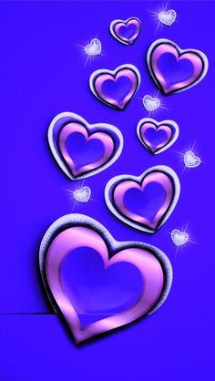 Pink Wallpaper Heart, Wallpaper Iphone Love, Bling Wallpaper, Animal Print Wallpaper, Star Wallpaper, Purple Wallpaper, Cellphone Wallpaper, Wallpaper Backgrounds, Phone Wallpapers