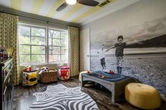 A Great, Graphic Playroom