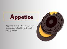 "Check out my @Behance project: ""Appetize- An electronic appetizer 
