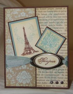 MOJO81 Parisian Mojo by JeanFB - Cards and Paper Crafts at Splitcoaststampers