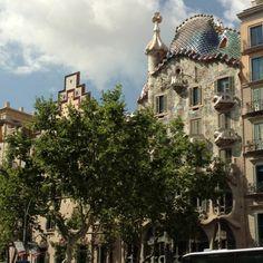 Describe tu pin...Casa Batlló,Gaudí,Barcelona